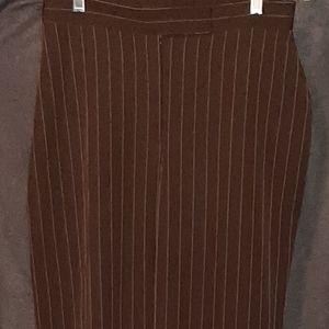 Ladies CATO Wide Leg Cuffed Dress Trousers Sz. 10